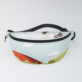 Peace mission 3 Fanny Pack