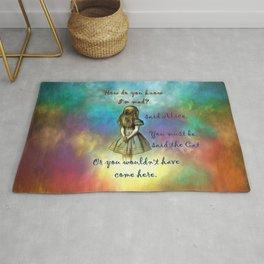 Wonderland Time - Alice In Wonderland Quote Rug
