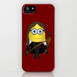 HG Minion Katiniss Evedeen iPhone Case