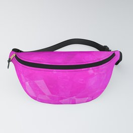Pink polygonal shpes Fanny Pack