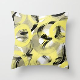 Unity Abstract Throw Pillow