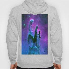 Nebula Purple Blue Pink Hoody