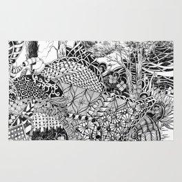 Black and White Design 7 Rug
