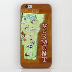 VERMONT iPhone & iPod Skin