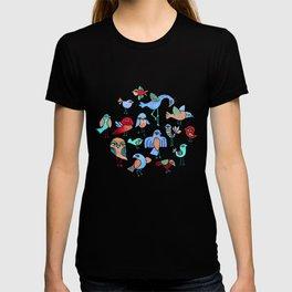 Quirky Birds T-shirt