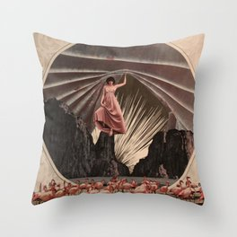 Under The Milkyway Throw Pillow