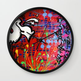 """SUCH IS THE RECIPE FOR LIFE"" Wall Clock"