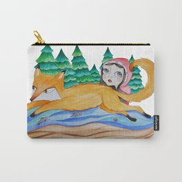 Fox Jump Carry-All Pouch