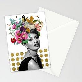 SOPHIA LOREN  Stationery Cards