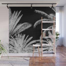 Palm Trees B&W Wall Mural