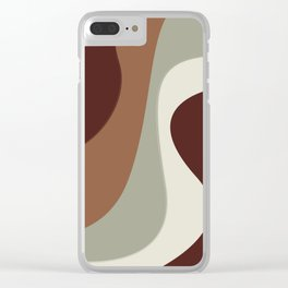 Mocha-Chino Clear iPhone Case
