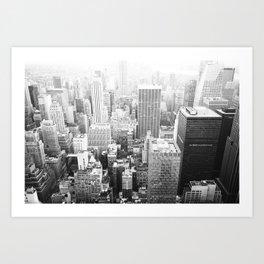 NY Minute Art Print