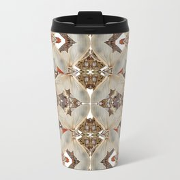 Moth Maze Metal Travel Mug