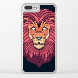 The eyes of a Lion Clear iPhone Case