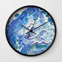 The Shallows Abstract Wall Clock