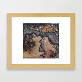Streams in Dry Places Framed Art Print