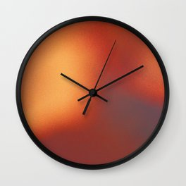 Abstract noise red Wall Clock