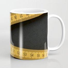 Yellow Folding Ruler Coffee Mug