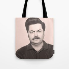 Ron Swanson Tote Bag