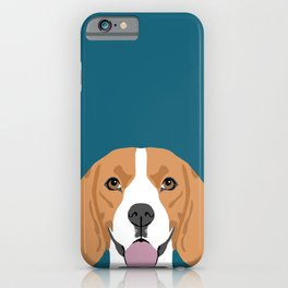 Lenon - Beagle gifts for pet owners and dog person with a beagle iPhone Case