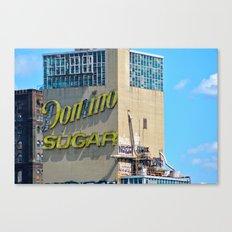 Domino Sugar Factory Canvas Print