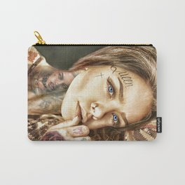Tattoo Model Painting | Tattoo Shop Carry-All Pouch