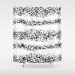 Butterfly Stipe Shower Curtain