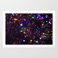Magic Bubbles Art Print