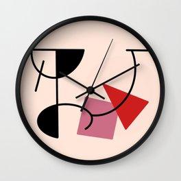 Retro Mobile, 1/3 Wall Clock