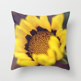 Summer in a sunflower - Floral Photography #Society6 Throw Pillow