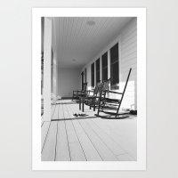 Porch Art Print
