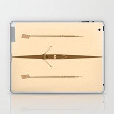 rowing single scull Laptop & iPad Skin