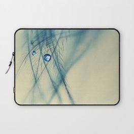feather blue Laptop Sleeve