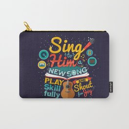 Psalm 33 Carry-All Pouch