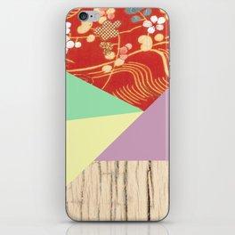 Kimono pattern iPhone Skin