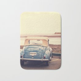 Beach Bum Vintage Car Bath Mat