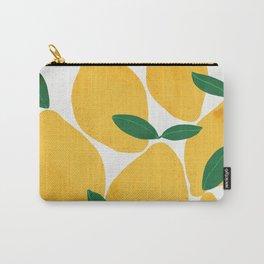 lemon mediterranean still life Carry-All Pouch