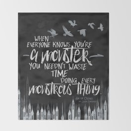 Six of Crows - Monster Throw Blanket