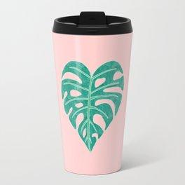 Leaf Heart Travel Mug