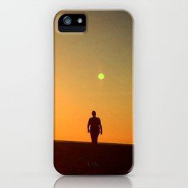 First Moonrise on Tatooine iPhone Case
