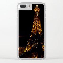 Eiffel LV Clear iPhone Case