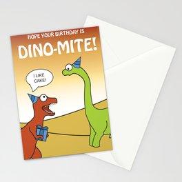 Dino-mite Birthday Stationery Cards