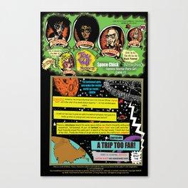 Page #1 of Tex Watt's  (UNCENSORED) SUNDAY COMIX POP-ART! Canvas Print
