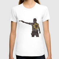 rick grimes T-shirts featuring Rick Grimes with Quotes by rlc82