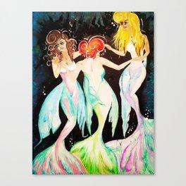 Sirenes Canvas Print