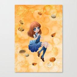 Pains japonais - Japanese breads Canvas Print