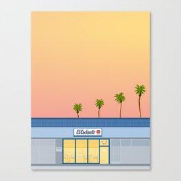 El Cochinito Storefront Canvas Print