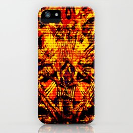 Demons iPhone Case