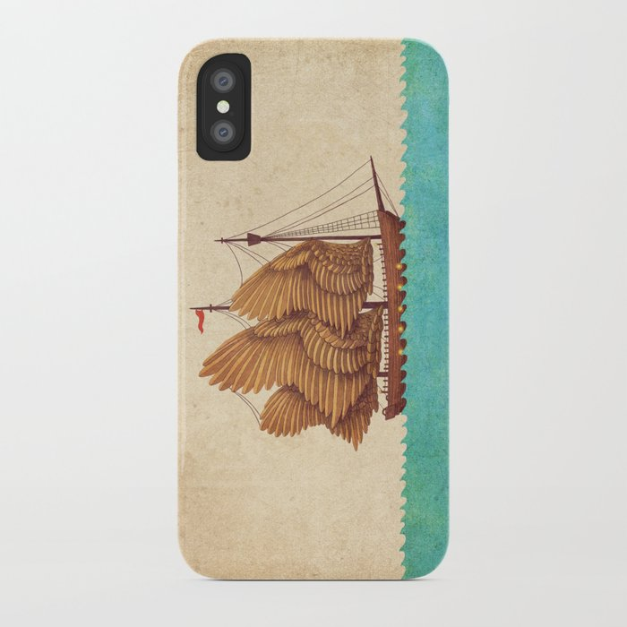 Winged Odyssey iPhone Case