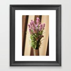 Lavender Abroad Framed Art Print